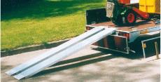 Typ RL 20/ RL 25 - Aluminium-Auffahr-Rampe