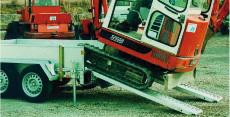 Typ RS 20/ RS 25/ RS 30 - Aluminium-Auffahr-Rampe