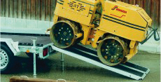 Typ RE 30/RE 38 - Aluminium-Auffahr-Rampe