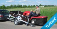 Typ GL - PKW-Anhänger, Ladefläche kippbar mit TopZurr®24