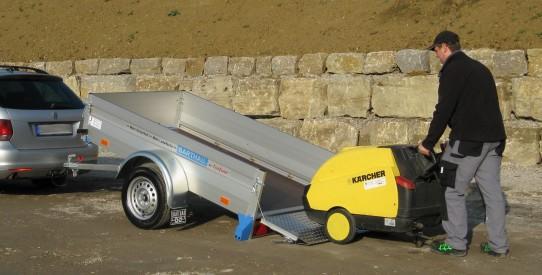 Typ QL - PKW-Anhänger, Ladefläche kippbar mit TopZurr®24