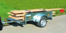 Typ ST - Pkw-Anhänger mit integrierter Zurrleiste