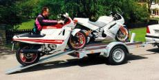 Typ MO - Motorrad-Transporter mit Anbindeösen