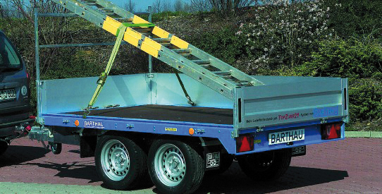 Typ EH - ECO-Toplader - Pkw-Speditions-Anhänger mit TopZurr®21