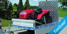 Typ ET - ECO-Toplader - Pkw-Speditions-Anhänger mit TopZurr®21
