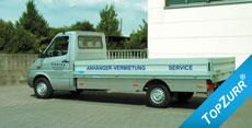 Typ Pritsche für Leicht-Lkw - Mercedes