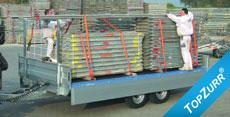 Typ SP 5002 - Leicht-LKW-Anhänger - 5to.-Speditions-Anhänger mit TopZurr® 21