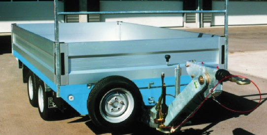 Typ SP - großer Speditions-Anhänger mit TopZurr®21