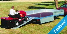 Typ TP - Speditions-Anhänger mit niedriger Ladehöhe + TopZurr®21