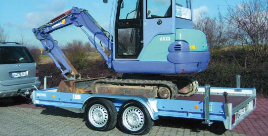 Typ MZ - Mehrzweck-Anhänger mit TopZurr®22