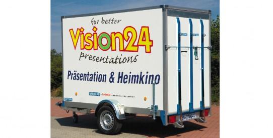 Typ CT - Koffer-Anhänger mit TopZurr®24