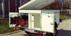 Typ HS - Hunde-Anhänger - 3-Box-Thermo