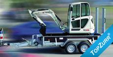 Typ GTB - Geräte-Transport-Anhänger mit Rampe hochstehend + TopZurr®22