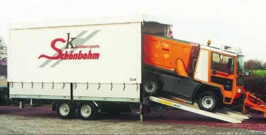 Typ LHD - Lkw-Anhänger mit TopZurr® 21