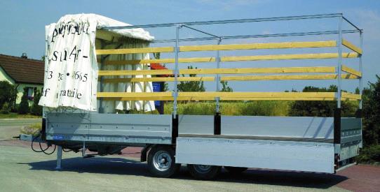Typ LH - Lkw-Anhänger mit TopZurr®21