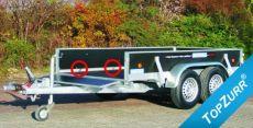 Typ GS - Pkw-Anhänger gewerbl. Ausführung mit TopZurr®24