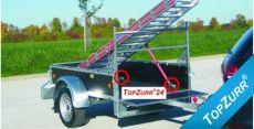 Typ KH - Pkw-Anhänger mit TopZurr®24 und mit integrierter Zurrleiste