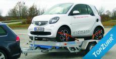 Typ QM - Motorrad-, SMART-Transporter absenkbar mit TopZurr®24