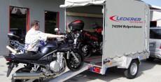 Zweirad-Anhänger, Fahrrad - Motorrad