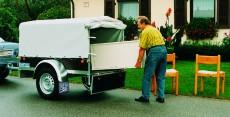 Pkw-Anhänger, Haus - Garten - Umzug