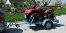 Quad-Anhänger, Hobbyfahrzeuge